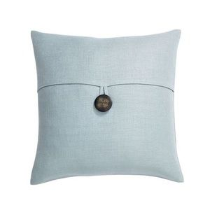 Pottery Barn Oasis Textured Linen Pillow Cover